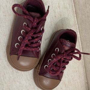 Baby size 4 converse all stars